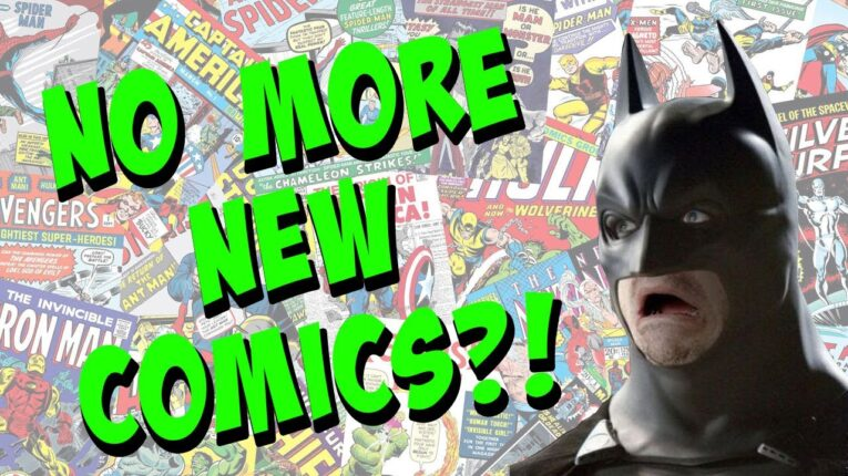 Comic Insider Reveals DC Comics and Marvel Will STOP Making New Comics – Reprints ONLY?!