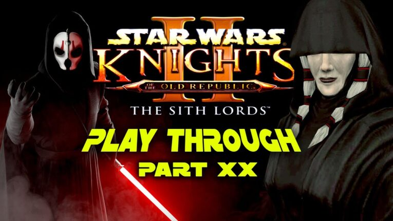 Let's play KOTOR! Sith Edition Part 20!