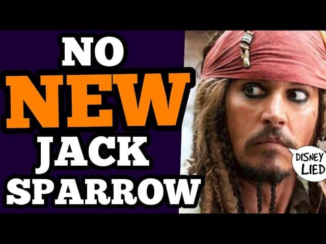 Depp DISSED by DISNEY CONFIRMED! REMOVED from Captain Jack Sparrow!