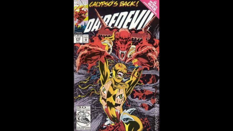 DAREDEVIL #310. The drums of Calypso beats fast!