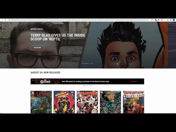 What Sales Comics on Virtual Stands?