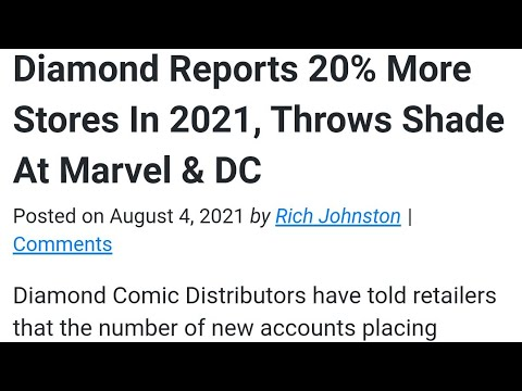 COMIC BOOK SHOPS ARE DOING BETTER THAN NEVER- Success Is SEEN…Cope Is HEARD