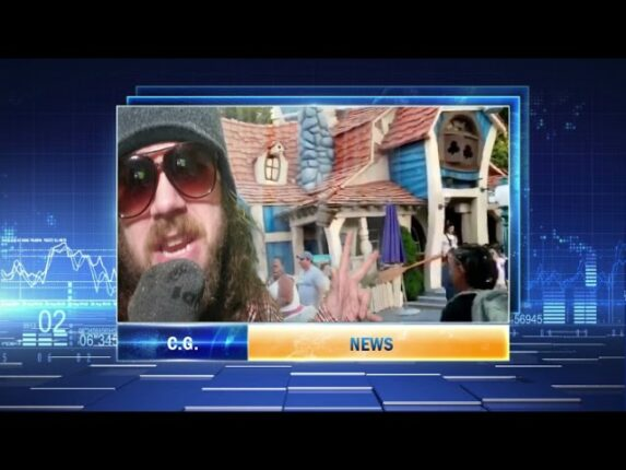 Breaking Fake News:  Man on street Dwagg – Stickers or bookmarks