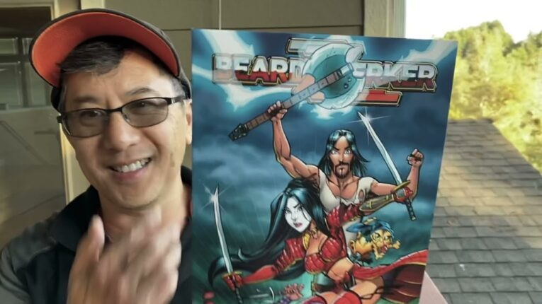 BEARDZZERKER #1: FIRST LOOK AT THE BRZRKR COMIC SPOOF PRINTER PROOF with Don Chin of PARODY PRESS