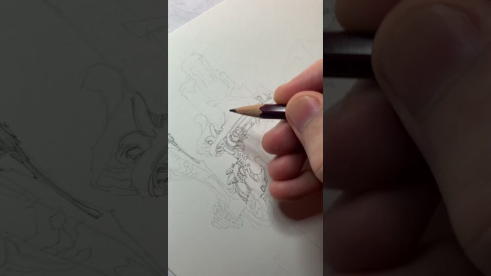 Pencil drawing ✍️