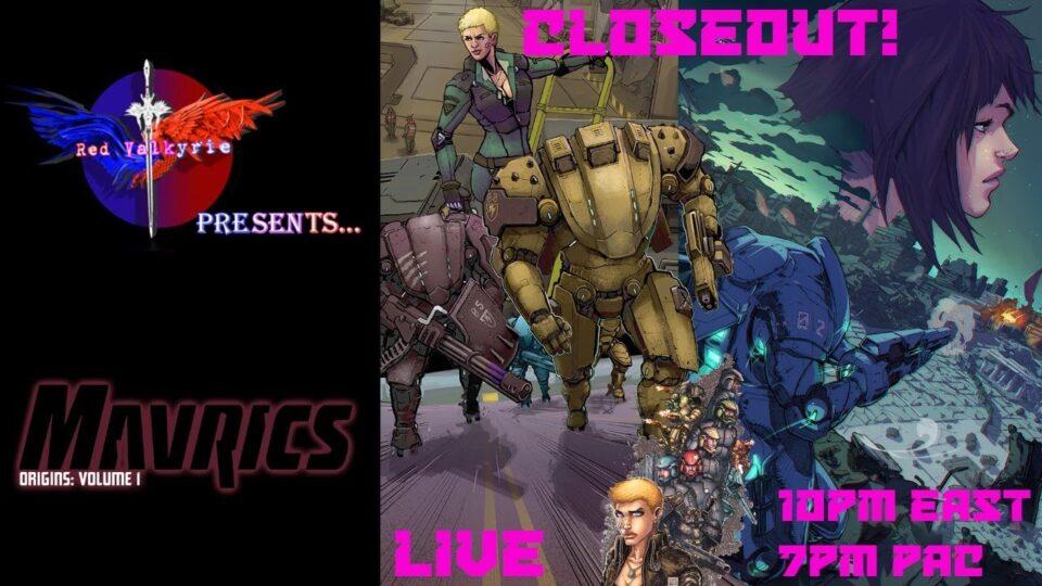 RV Presents: Mavrics: Origins Vol 1 CLOSEOUT!