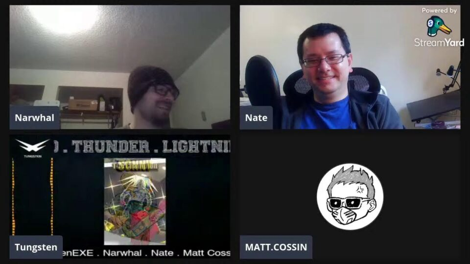Modded 2 writing team meeting