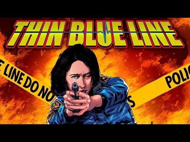 INDIE COMICS INTERVIEWS – Thin Blue Line w/ Mike Baron & Team