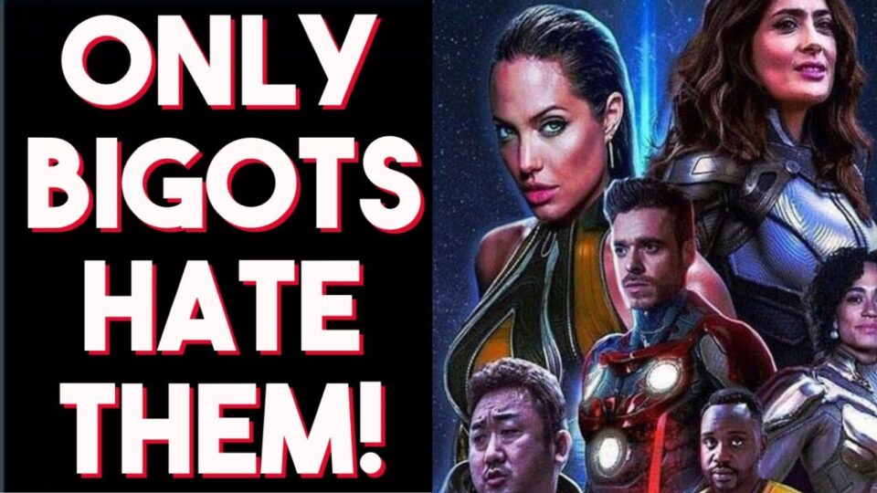Learn to love them! If you criticize Marvel's Eternals you might be a BlG0T!?