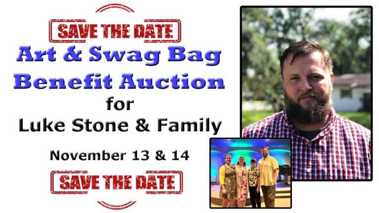 Luke Stone & Family Art & Swag Bag Benefit Auction