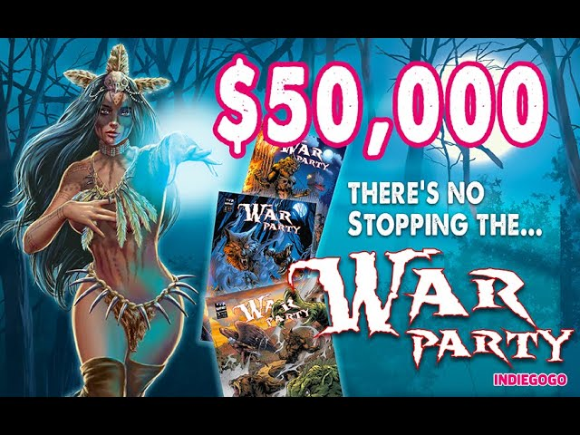 Thank you Backers! #warparty #comics #indiegogo